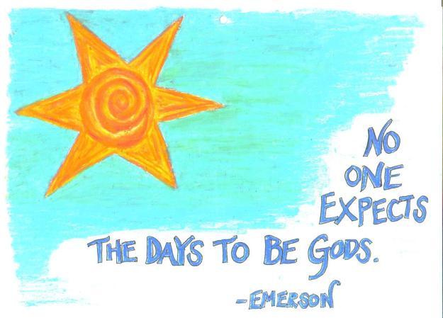 days to be gods art